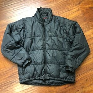 Marmot mens large puffy puffer insulated jacket